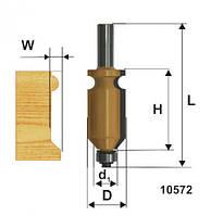 Фреза кромочная фигурная ф22.2х41, хв.12мм (арт.10572)
