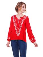 """Блуза з вишивкою натуральний льон """"Желана"""" розміри в наявності, фото 1"""