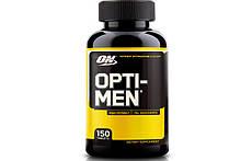 Витамины и минералы Optimum Nutrition Opti Men 150 tabs.
