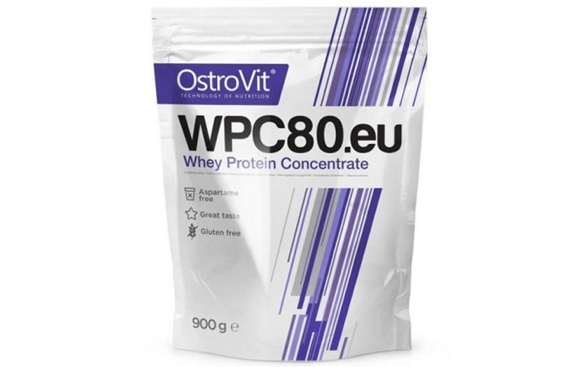 Протеин OstroVit Standard WPC80 - 900g. (ШОКОЛАД)