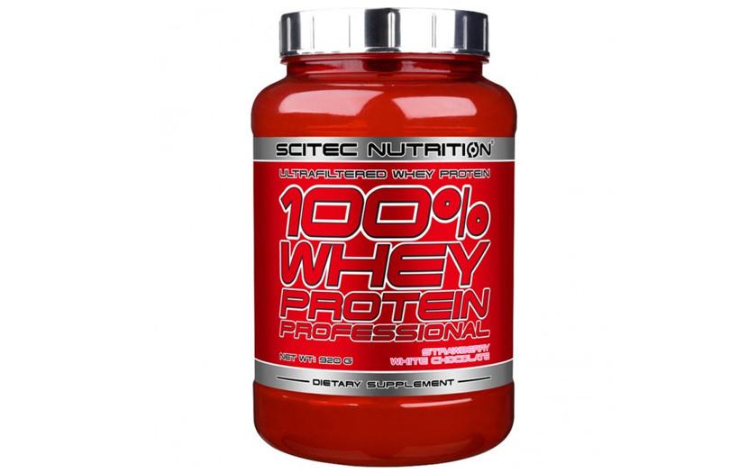 Протеїн Scitec Nutrition 100% Whey Protein Ppofessional 920g. (КАРАМЕЛЬ)