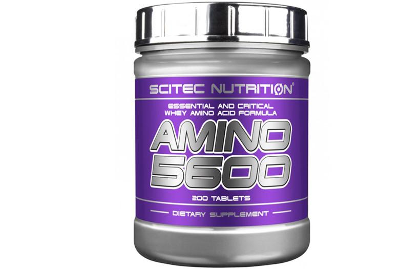 Амінокислоти Scitec Nutrition Amino 5600 200 tabs.