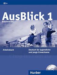 AusBlick 1 Arbeitsbuch mit Audio-CD / Рабочая тетрадь