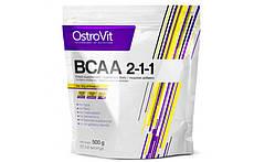 Аминокислоты Ostrovit BCAA 2:1:1 500g. (ЛИМОН)