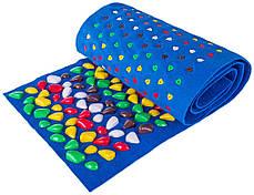 Массажный коврик с цветными камнями 150х40 см, фото 3