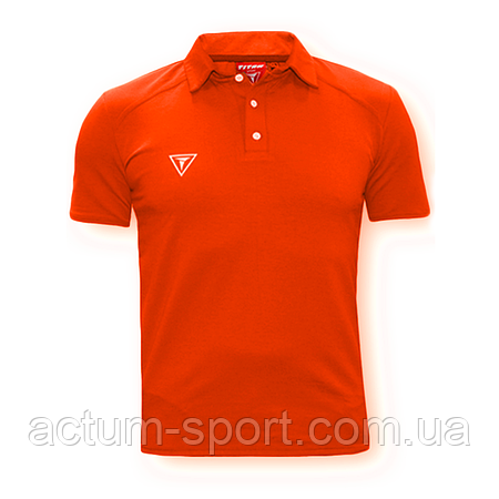 Футболка поло (рубашка) Dinamo оранжевый