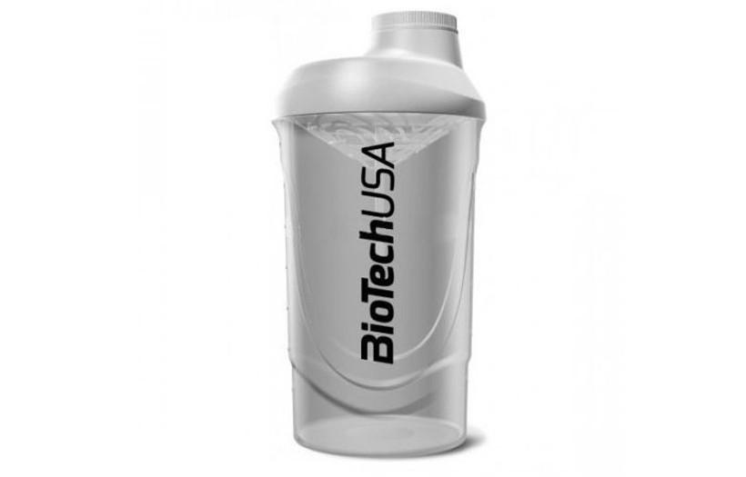 Шейкер BioTechUSA Shaker Wave 600 ml. (White)