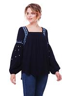 """Блуза туніка з вишивкою """"Заряна"""" розміри в наявності"""