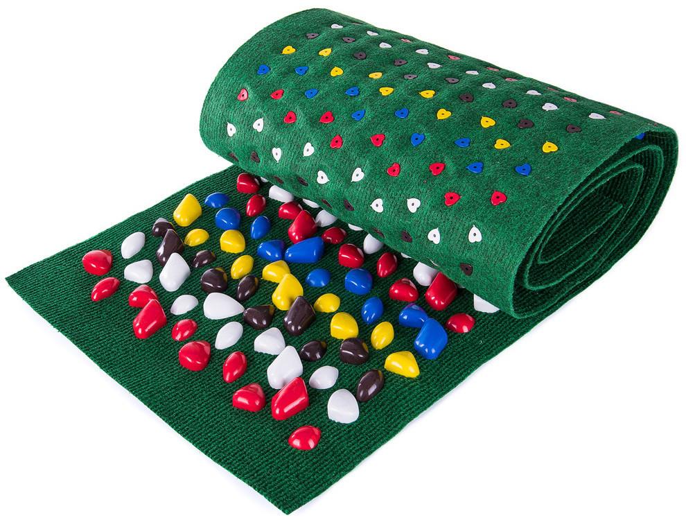 Массажный коврик «ОРТОПЕД» с камнями 150х40 см