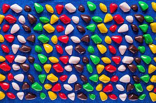 Массажный коврик «ОРТОПЕД» с камнями 150х40 см, фото 3