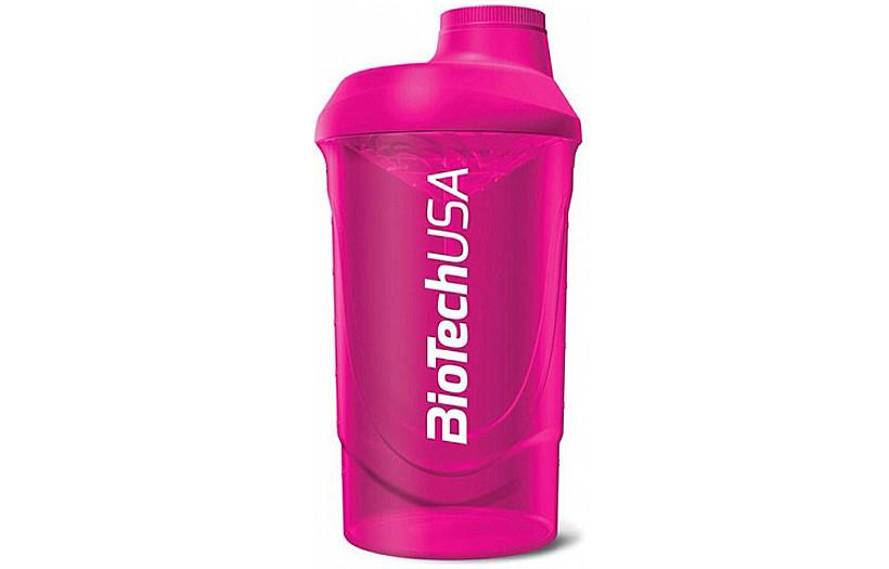 Шейкер BioTechUSA Shaker Wave 600 ml. (Pink)
