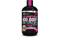Жиросжигатель BioTech L-carnitine 100 000 Liquid, 500 ml. (ВИШНЯ)