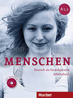 Menschen A1/1 Arbeitsbuch  mit CDs (тетрадь по немецкому языку с CD диском)