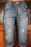 Мужские джинсовые бриджи