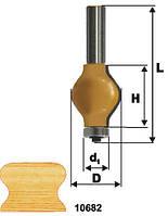 Фреза кромочная фигурная ф32х38, хв.12мм (арт.10682), фото 1