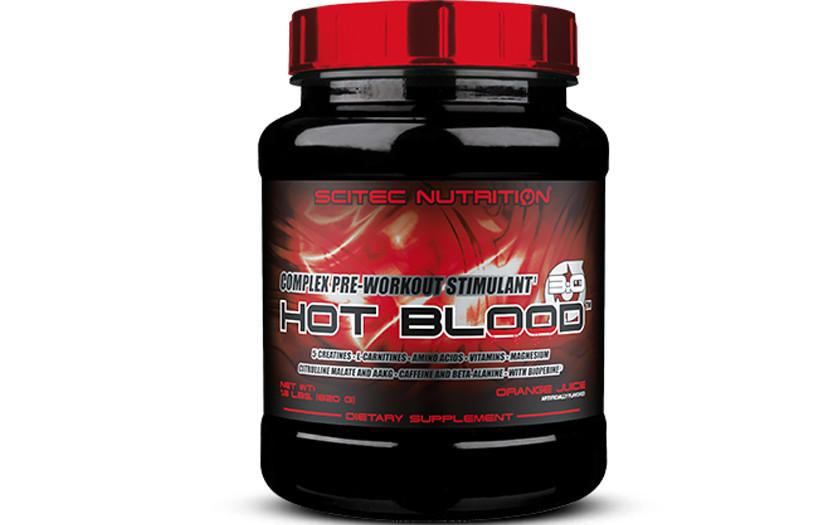 Предтреник Scitec Nutrition Hot Blood 3.0 300g.