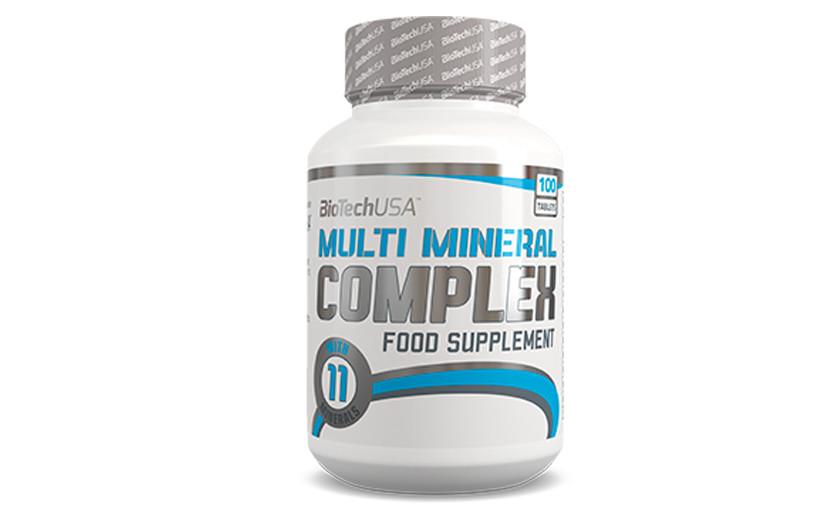 Витамины и минералы  BioTech Multimineral complex 100tabs.