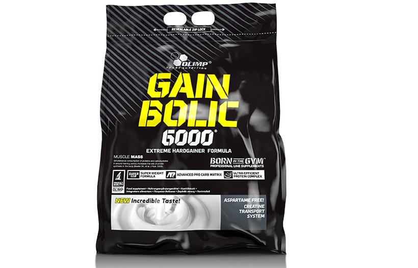 Гейнер Olimp GAIN BOLIC 6000  1 kg. (КЛУБНИКА)