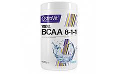Аминокислоты Ostrovit BCAA 8:1:1 400g.(БЕЗ ВКУСА)