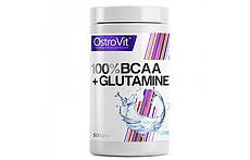 Аминокислоты Ostrovit BCAA+Glutamine 500g.(БЕЗ ВКУСА)