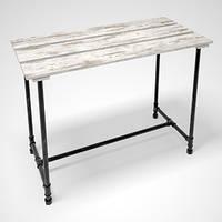 Демонстрационный стол для выкладки Лофт Loft металлический. Торговое оборудование мебель для магазина
