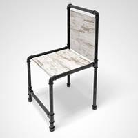 Стул Лофт Loft металлический. Торговое оборудование мебель для магазина одежды
