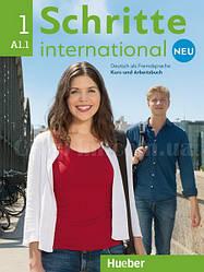 Schritte international Neu 1 Kursbuch + Arbeitsbuch mit Audio-CD (учебник + рабочая тетрадь + диск, нов/изд.)