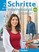 Schritte international Neu 2 Kursbuch + Arbeitsbuch mit Audio-CD (учебник + рабочая тетрадь + диск, нов/изд.)