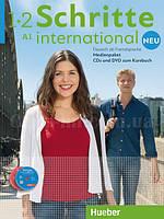 Schritte international Neu 1+2 Medienpaket  (AudioCDs + 1 DVD zum KB) полный медиапакет, фильмы и слайд-шоу