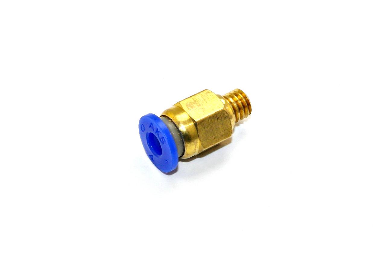Фитинг PC4-M6 для трубки 4 мм