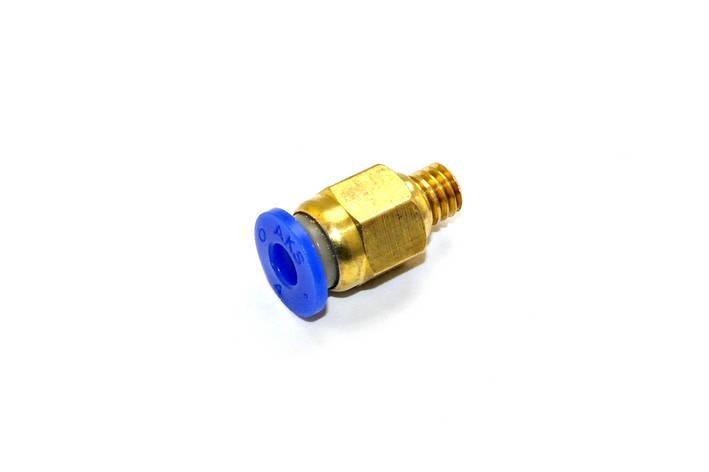 Фитинг PC4-M6 для трубки 4 мм, фото 2