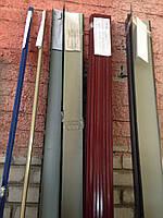 Угол внутренний, уголок для профнастил, металлический внутренний, уголки из оцинковки
