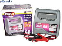 Зарядное устройство для автомобильного аккумулятора Pulso BC-20860 12V 6A