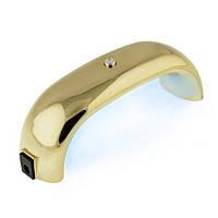 УФ-LED лампа Мини золото (таймер 30, 60сек) 9 Вт