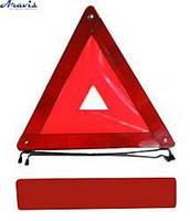 Знак аварийный ЗА-002 усиленный /plastic box
