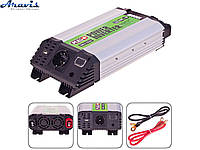 Инвертор PULSO IMU-1520 12V-220V 1500W USB 2.0A