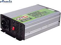 Инвертор PULSO ISU-620 12V-220V 600W USB 2.0A синусоида