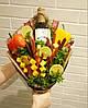 Фруктовые букеты, мужские букеты,съедобные букеты, букеты из фруктов, овощей, алкоголя!, фото 5