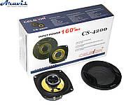 Колонки для авто 10 см Celsior CS-4200 yellow