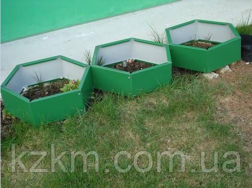 Грядки из оцинковки, грядки для огорода
