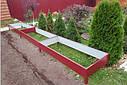 Грядки из оцинковки, грядки для огорода, высокие грядки, бортики, ограждения, грядка, фото 2