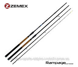 Удилище фидерное Zemex Rampage River Feeder 12,4'ft - 110g
