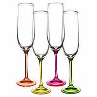 Набор бокалов для шампанского Bohemia NEON