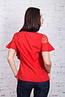 Легкая женская блузка 2018 - Фонарик - (код бл-191), фото 3