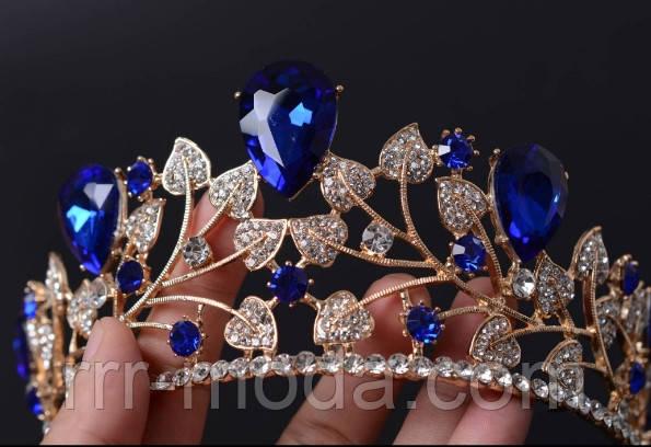 Золотые свадебные короны оптом