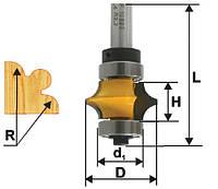 Фреза кромочная фигурная ф22х13, r3.2, хв.8мм (арт.10690), фото 1