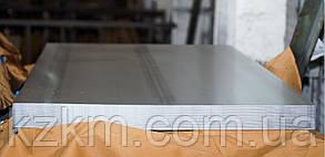 Гладкий лист оцинкованный 0,25 мм, гладкий плоский лист