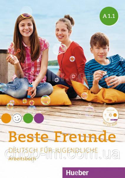 Beste Freunde A1.1 Arbeitsbuch mit CD-ROM / Рабочая тетрадь