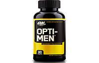 Витамины и минералы Optimum Nutrition Opti Men 90 tabs.