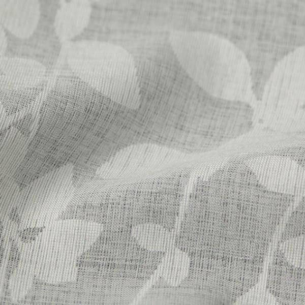 Тюль с растительными узорами, молочный HT15-001